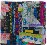 Faliero Sarti patchwork print scarf