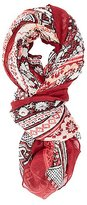 Charlotte Russe Patchwork Print Wrap Scarf