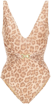 Zimmermann Buckle-detailed Swimsuit