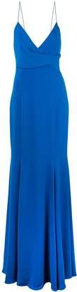 Jay Godfrey Bocelli V-neck gown