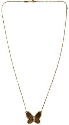 Van Cleef & Arpels Brown Yellow gold Necklaces
