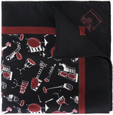 Dolce & Gabbana Jazz Club print scarf - men - Silk - One Size