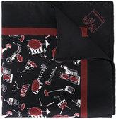 Dolce & Gabbana Jazz Club print scarf