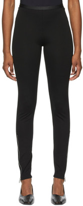 Alyx Black Zippered Leggings