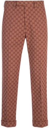 Gucci GG Printed Tailored Trousers