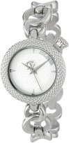Just Cavalli Women's R7253137615 Lily Round Stainless Steel Dial Watch