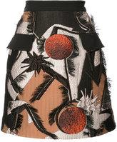 Roksanda jacquard mini skirt - women - Silk/Cotton/Polyamide/Viscose - 6