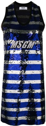 MSGM Sequin Tank Dress