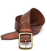Lucky Brand Floral Embossed Belt