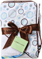 Caden Lane Classic Collection Circle Dot Hooded Towel Set