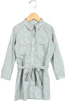 Bonpoint Girls' Floral Print Shirtdress