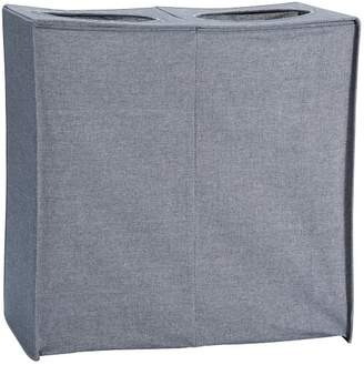 Pottery Barn Teen Collapse And Carry Hamper, Chambray
