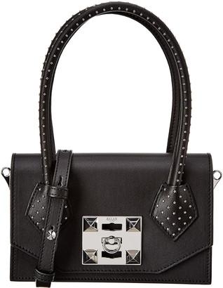 Salar Milano Kio Dots Leather Shoulder Bag