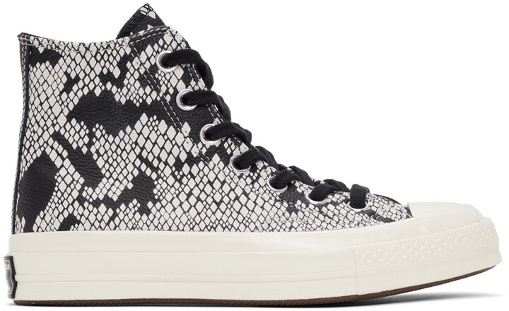 Thumbnail for your product : Converse Black Snake Chuck 70 Hi Sneakers