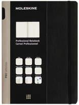 Moleskine Professional Meeting Ruled Notebook, Extra Large, Black