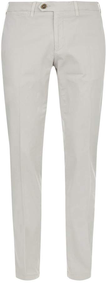 Canali Cotton Stretch Trousers