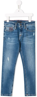 Tommy Hilfiger Junior straight-fit jeans