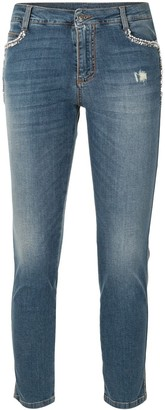 Ermanno Scervino Skinny Fit Ankle Jeans