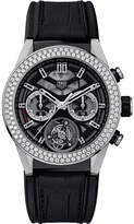 Tag Heuer CAR5A80.FC6377 Carrera titanium and diamond watch