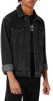 Topman Men's Western Denim Jacket