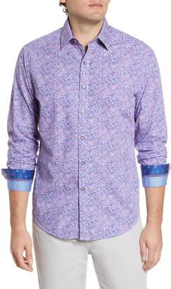 Robert Graham Precision Regular Fit Button-Up Shirt