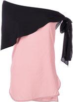 Marni scarf tie blouse - women - Silk/Acetate - 40