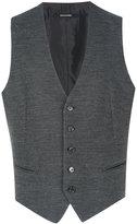 Tagliatore knitted buttoned waistcoat - men - Acrylic/Cupro/Virgin Wool - 50