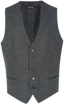 Tagliatore knitted buttoned waistcoat