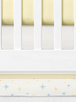 Oliver Gal Sheep Moon Cotton Crib Skirt