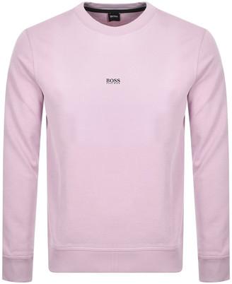 Boss Casual BOSS Weevo Sweatshirt Pink