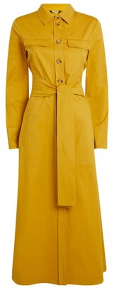 Max Mara Cotton-Rich Shirt Dress