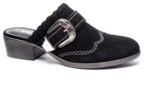 Chinese Laundry Waltz Split Western Mules Women's Shoes