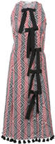 Altuzarra bow printed dress