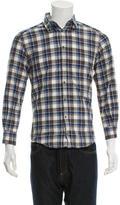Dolce & Gabbana Plaid Button-Up Shirt