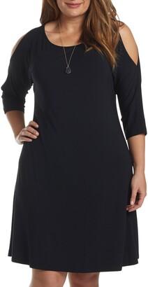 Tart Naya Cold Shoulder A-Line Dress