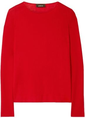 Akris Cashmere And Silk-blend Sweater