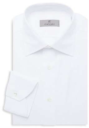 Canali Modern-Fit Basic Dress Shirt