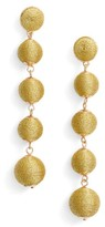 BaubleBar Women's Metallic Crispin Ball Statement Earrings