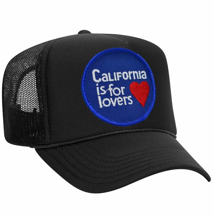 Singer22 Cali Is For Lovers Vintage Trucker Hat