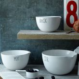west elm Labeled Kitchen Mixing Bowl Set