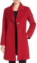 Fleurette Women's Notch Collar Wool Walking Coat