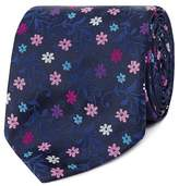 Thomas Nash Navy Floral Tie