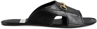 Gucci Horsebit-Detail Slippers