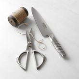 Global Classic 2-Piece Chef's Knife and Shears Set