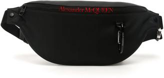 Alexander McQueen Zip Logo Belt Bag