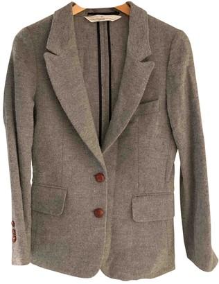 Golden Goose Grey Wool Jackets