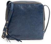 Hobo 'Small Lyra' Leather Crossbody Bag - Black