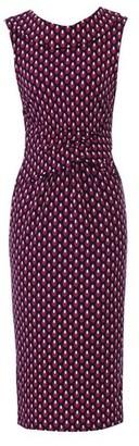 Dorothy Perkins Womens *Jolie Moi Pink Geometric Print Collar Pencil Dress, Pink