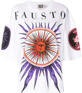 Fausto Puglisi embroidered oversized T-shirt