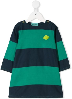 Bobo Choses Striped Casual Dress